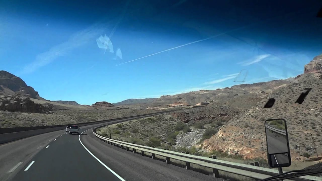 driving thru utah from salt lake city to las vegas nevada pt 1 - youtube