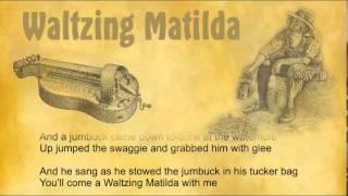 Waltzing Matilda hurdy gurdy / drehleier medieval adaption + lyrics