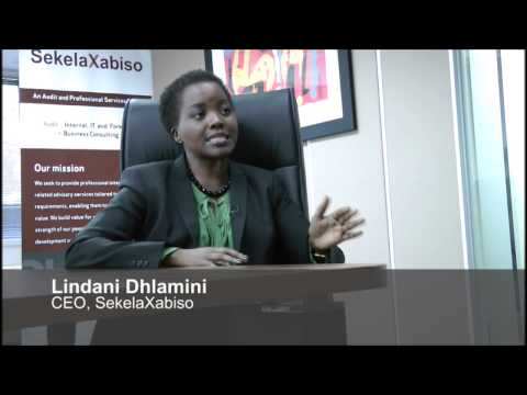 Lindani Dhlamini on Business Day Live