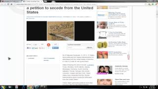 BREAKING CIVIL WAR 15 STATES PETITION TO SECEDE FROM THE UNITED STATES !