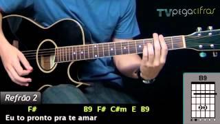 Luan Santana - Nega (Aula de violão) - TV Pega Cifras