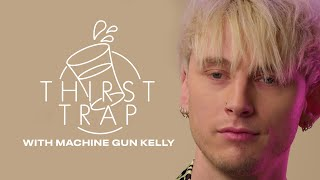 "Machine Gun Kelly Shares His Biggest Weakness & Reveals His ""Mystery Woman"" on Thirst Trap 