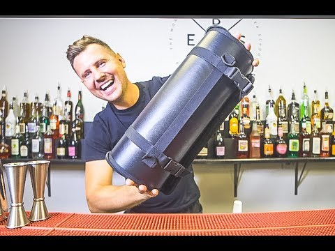 How To Build A Custom Bar Set For Bartenders  (Bar Tool Roll)