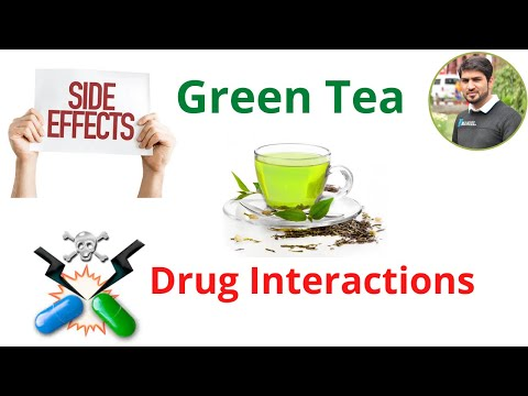 Side Effects and Drug Interactions of Green Tea | Urdu/ Hindi