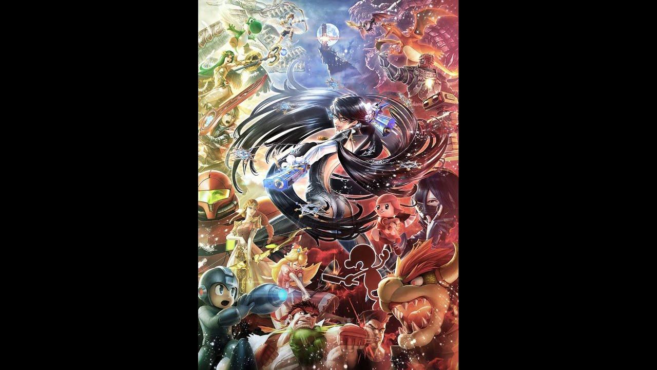 Bayonetta S Wallpaper In Ssb4 Youtube