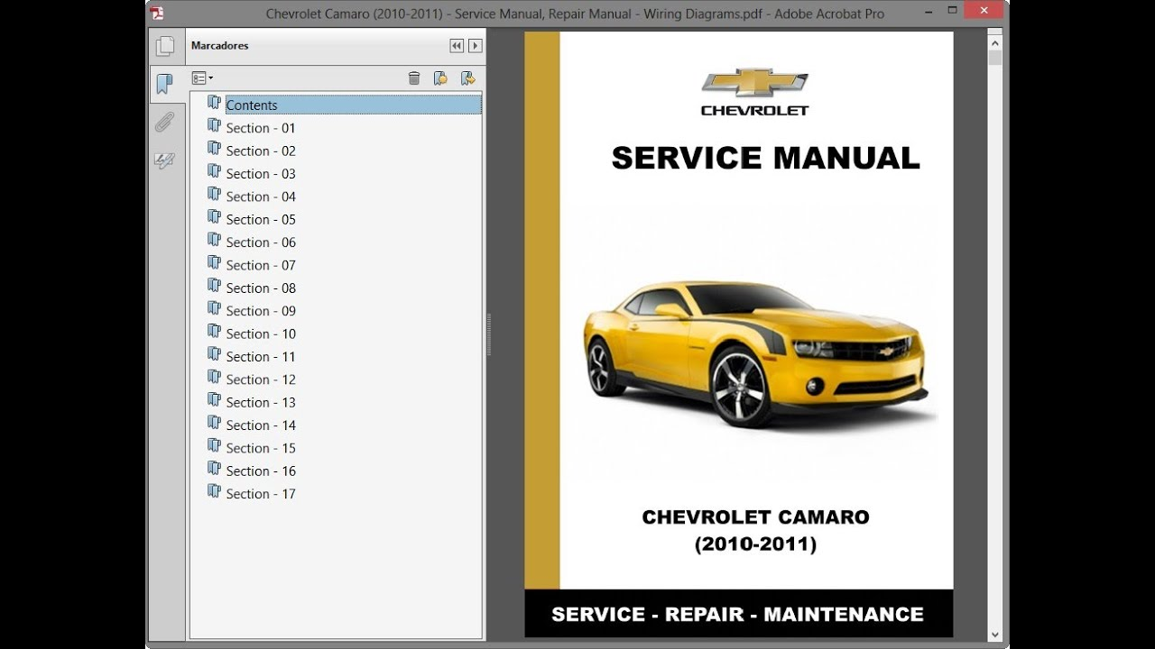 Chevrolet Camaro  2010-2011    Repair