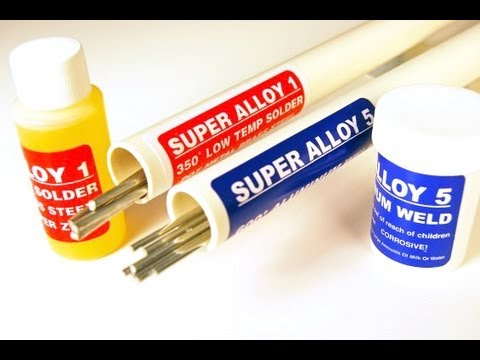 Aluminum Welding Brazing and Soldering with a Hand Held Torch