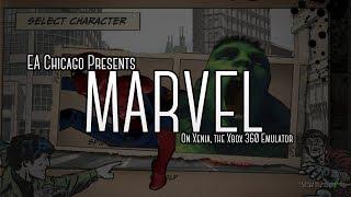 Marvel ea chicago running on xenia the xbox 360 emulator