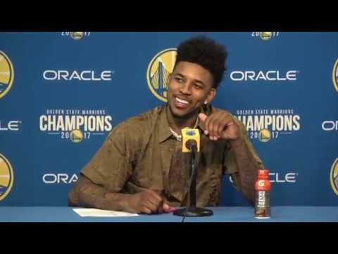 Nick Young Postgame Interview / GS Warriors vs Thunder / Feb 24