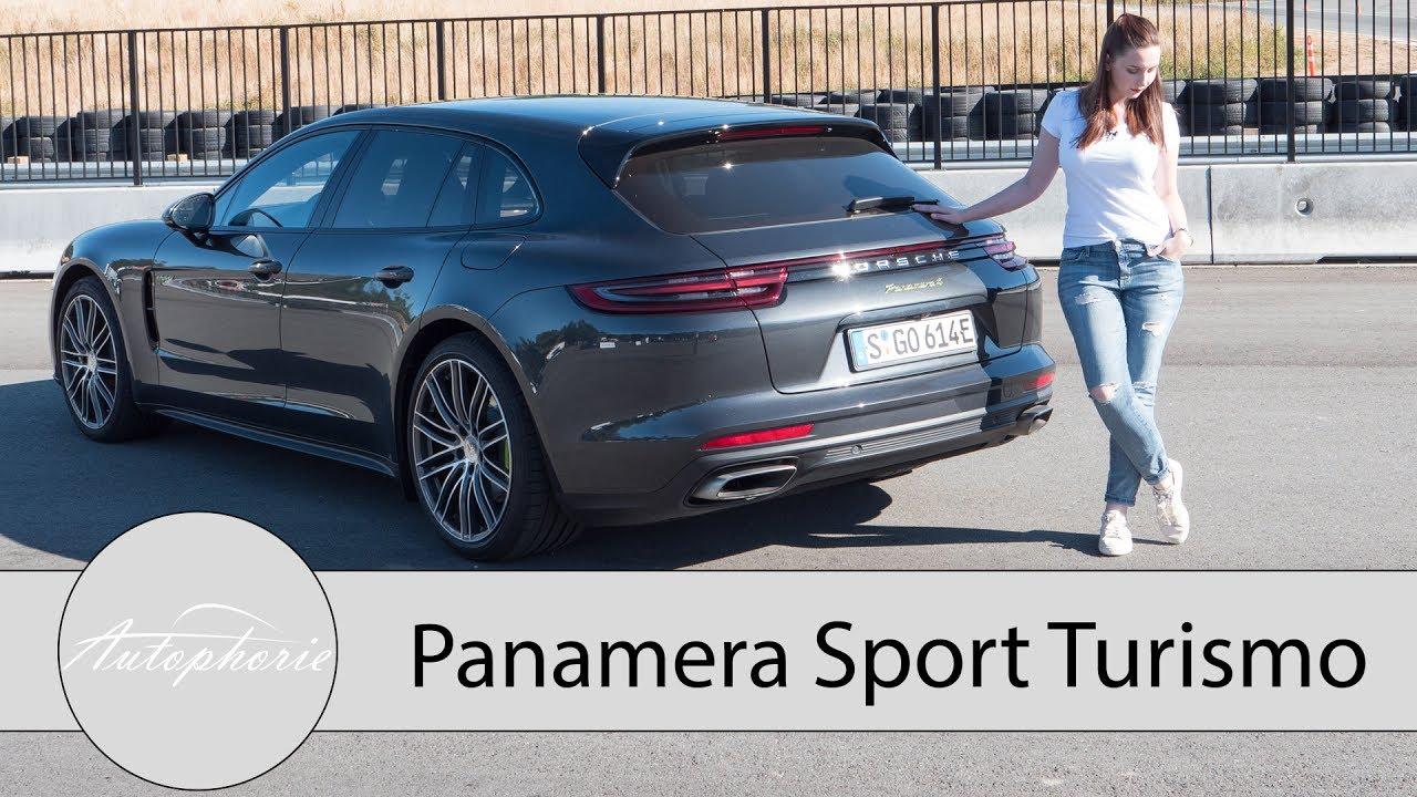 Porsche Panamera 4 E Hybrid Sport Turismo Test Review