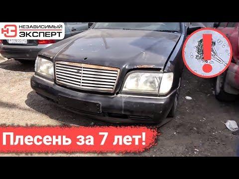 ПЛЕСЕНЬ В СИДЕНЬЯХ МЕРСЕДЕС 7 ЛЕТ СПУСТЯ!
