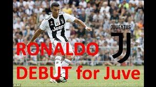 Màn ra mắt ấn tượng của Ronaldo tại Juventus - Ronaldo Debut for Juve 1080HD