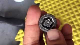 McGard lug nut removal without Drilling