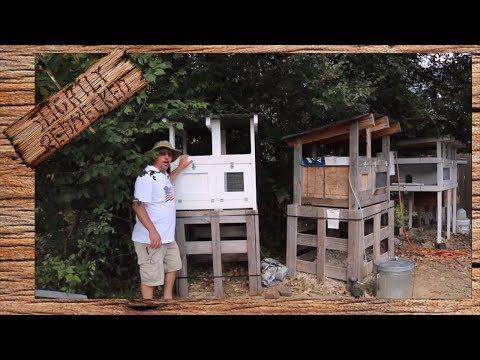 Building a New Quail Hutch - The SR Quail Update 9-18-17