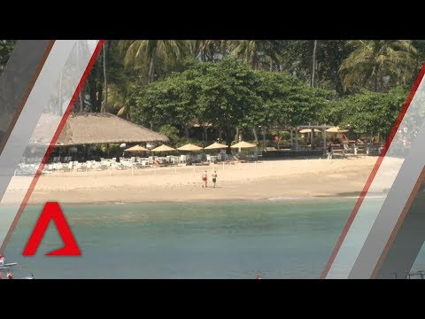 The impact of the earthquake on Indonesia's tourist island of Lombok