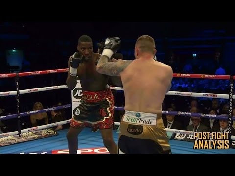 LAWRENCE OKOLIE VS LUKAS RUSIEWICZ - 1ST ROUND KO!!! POST FIGHT REVIEW (NO FOOTAGE)
