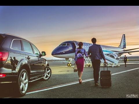 Commercial shoot for VIP Aviation Services, backstage
