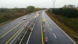 M2 főút felhajtó