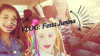 Festa Junina - Apresentação da Julia...