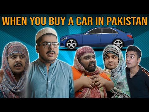 When You Buy A Car In Pakistan | Unique MicroFilms | Comedy Skit | UMF