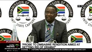State Capture Inquiry | Probe into Zim rendition was to get rid of Dramat - Khuba