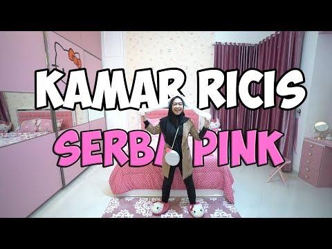 Akhirnya Room Tour Kamar Tidur Serba Pink & Hello Kitty😍