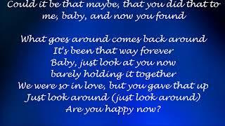 Are You Happy Now - Rascal Flatts ft. Lauren Alaina Lyrics