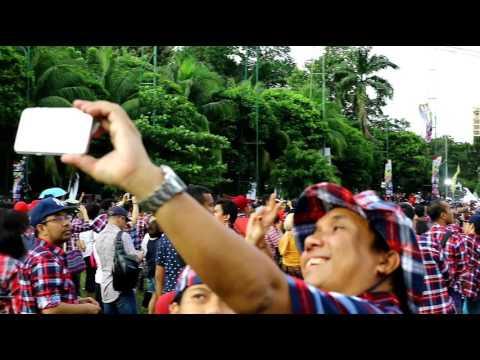 Orasi Super Duper Cadas Ahok Djarot Di Konser Gue 2 Senayan 4 Februari 2017