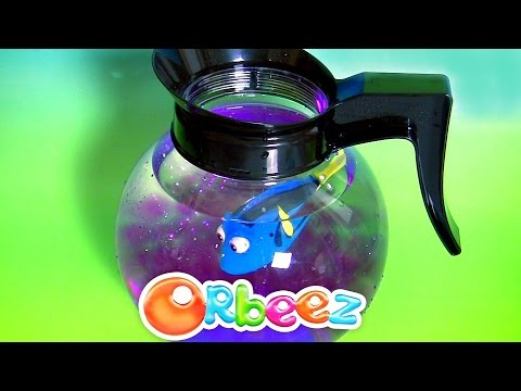 Dory Swimming In Orbeezz Coffee Pod Playset From Disney Pixar Finding Dory Hatch 'n Heroes Nemo Toys
