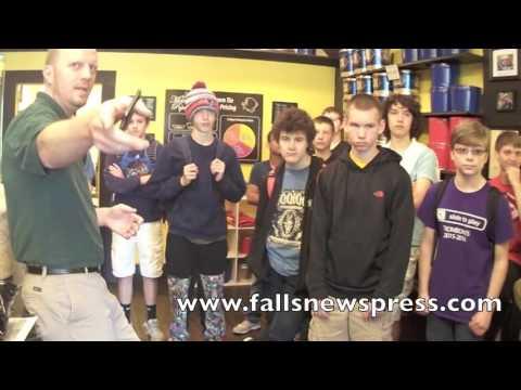 Metropolis Popcorn, Cuyahoga Falls High School team up