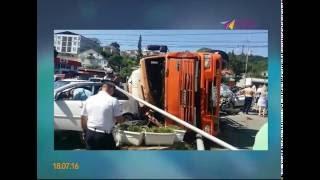 Серьёзное ДТП произошло в Адлерском районе(Авария случилась в селе Весёлое около трех часов дня http://maks-portal.ru/proisshestviya/video/seryoznoe-dtp-proizoshlo-v-adlerskom-rayone., 2016-07-18T16:40:34.000Z)
