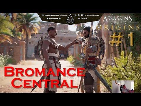 Assassin's Creed Origins - AC Origins - POTW Funny Moments 1 - Bromance Central (31.10.17)
