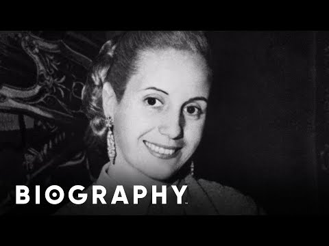 Eva Peron - Former First Lady of Argentina | Mini Bio | BIO