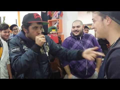 Empatia's Freestyle - MiniƎm-MC vs BigVans