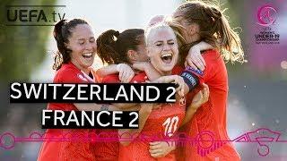 #WU19EURO highlights: Swiss comeback denies France