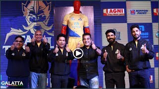 Tamil Thalaivas jersey launched
