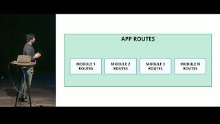 A modular approach to building large-scale apps with Vue