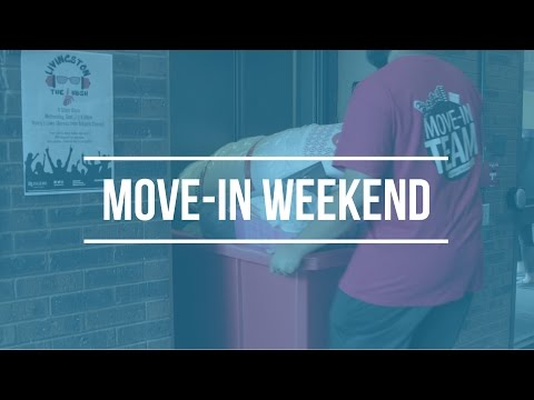 Rutgers Move-In Weekend