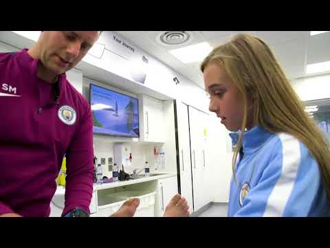 Manchester City Physiotherapist