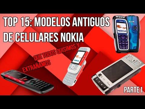 Modelos Antiguos de Celulares Nokia ¿Cuál tuviste tu? (Era pre-microsoft)