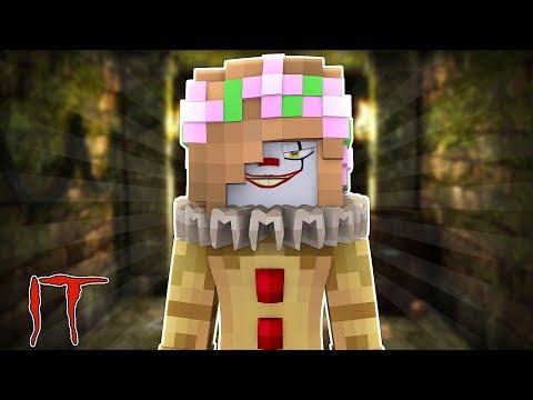 LITTLE KELLY BECOMES IT THE CLOWN | Minecraft Little Kelly