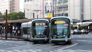 2019/10/27 広島電鉄 1000形 1009号 広島駅 | Hiroden: 1000 Series #1009 at Hiroshima Station