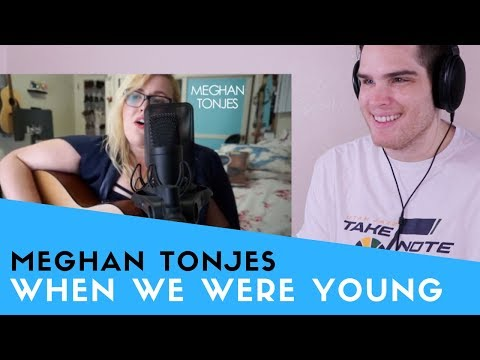 Voice Teacher Reacts to Meghan Tonjes  When We Were Young ft Weezer