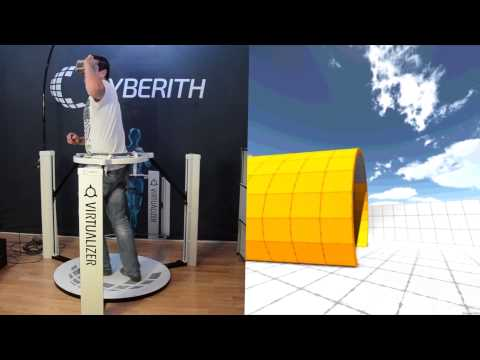 Cyberith Virtualizer Bluetooth And Decoupling Demonstration