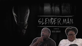 SLENDER MAN - Official Trailer {REACTION}