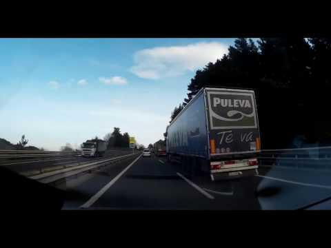 Return Road Trip Spain  to UK