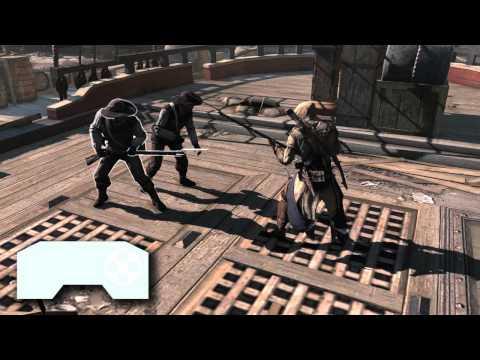 Assassin's Creed 3- Tutorial de Gameplay: Combate [ES]