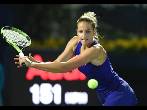2017 Dubai Duty Free Tennis Championships First Round | Kristyna Pliskova vs Vinci | WTA Highlights