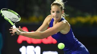 2017 dubai duty free tennis championships first round   kristyna pliskova vs vinci   wta highlights