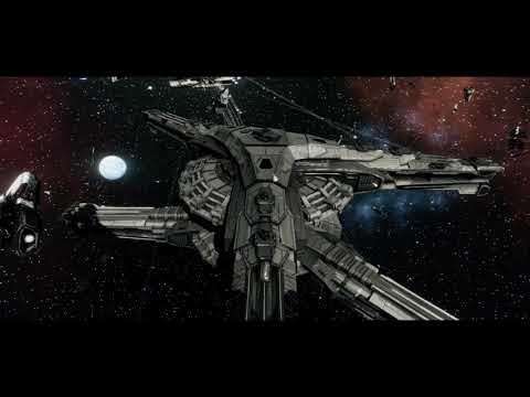 Battlestar Galactica Deadlock Resurrection. Final Mission with Galactica and two Jupiter Mark 1s.  